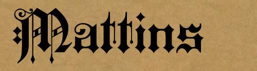 mattins