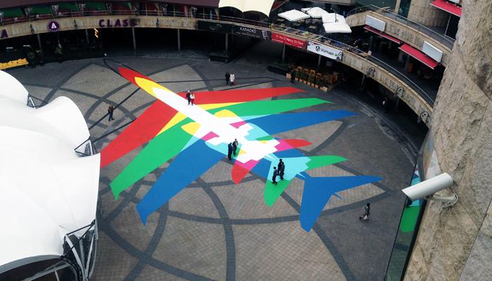 Rainbow Plane 002 - 3